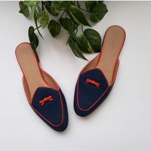J. Crew Flats Mules Shoes  Size 10